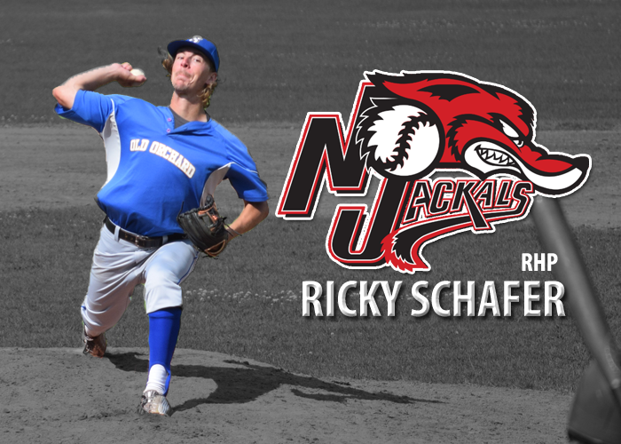 EPBL SENDS RHP RICKY SCHAFER TO NEW JERSEY JACKALS OF THE CANAM LEAGUE