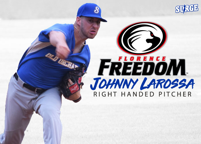 JOHN LAROSSA SIGNS WITH FLORENCE FREEDOM