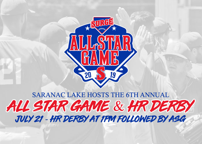 SURGE TO HOST THE 2019 EMPIRE LEAGUE ALL STAR GAME AND HR DERBY